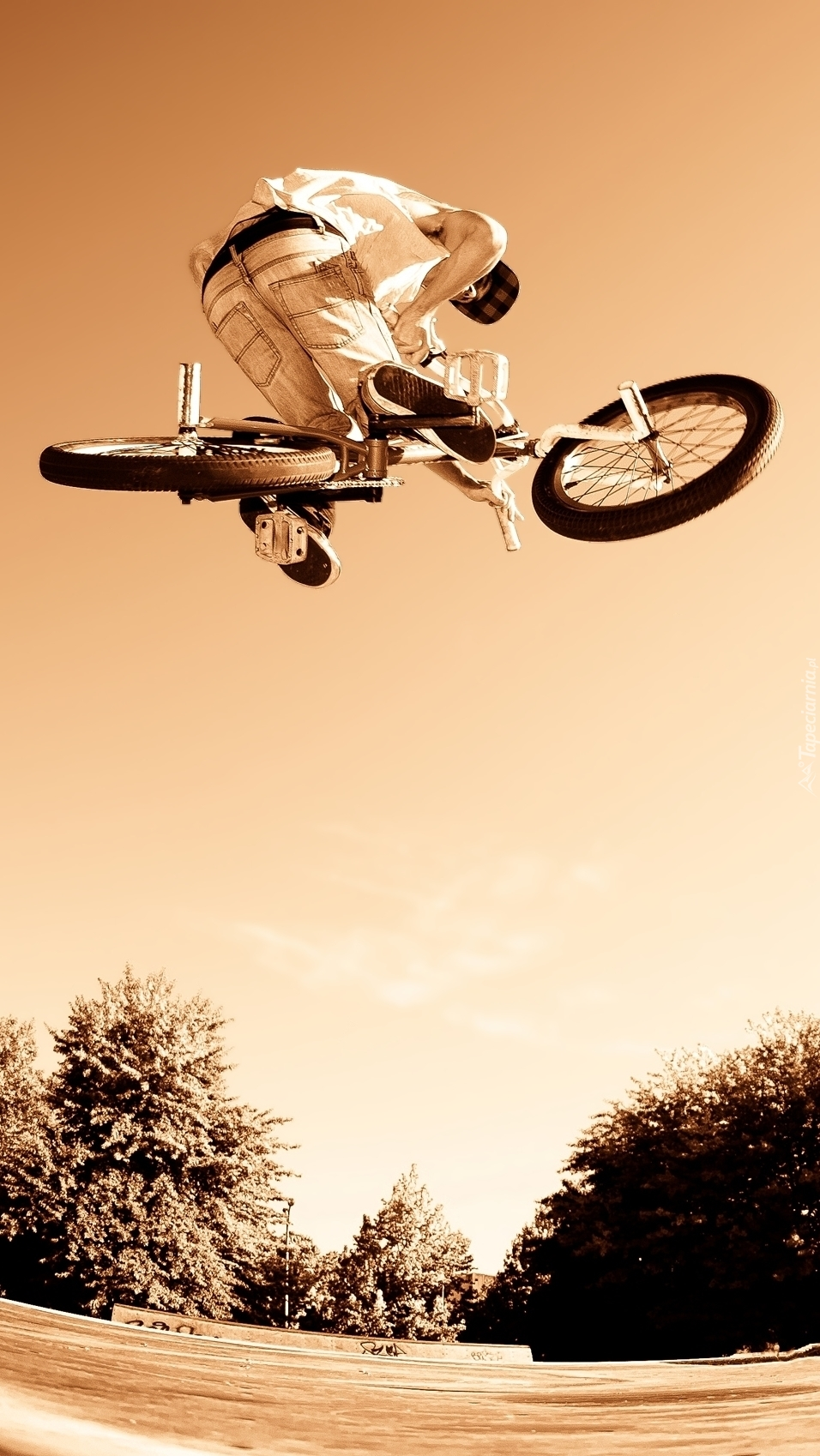 Kaskaderskie wyczyny rowerowe