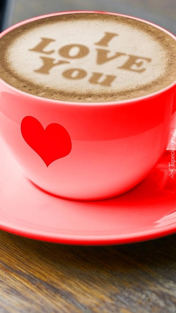 Kawa z miłosnym akcentem