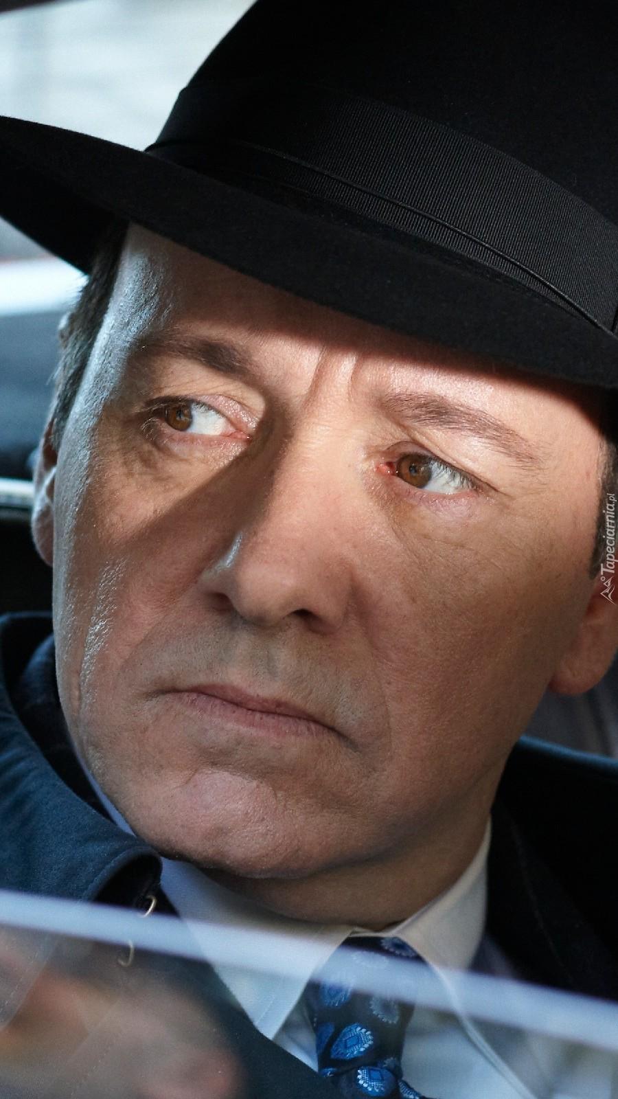 Kevin Spacey w kapeluszu
