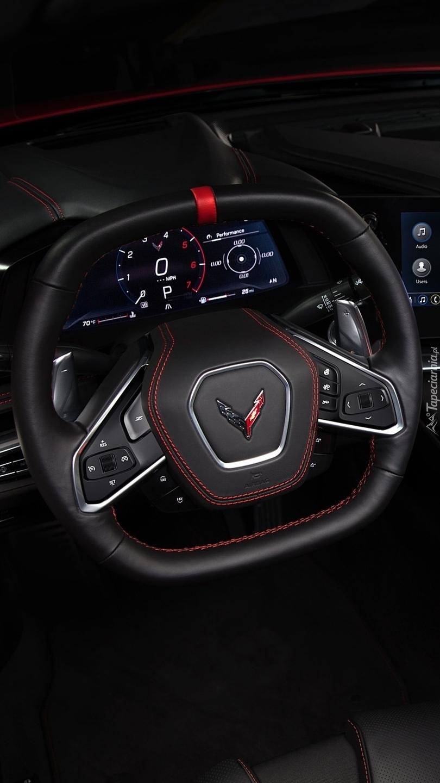 Kierownica Chevroleta Corvette Stingray