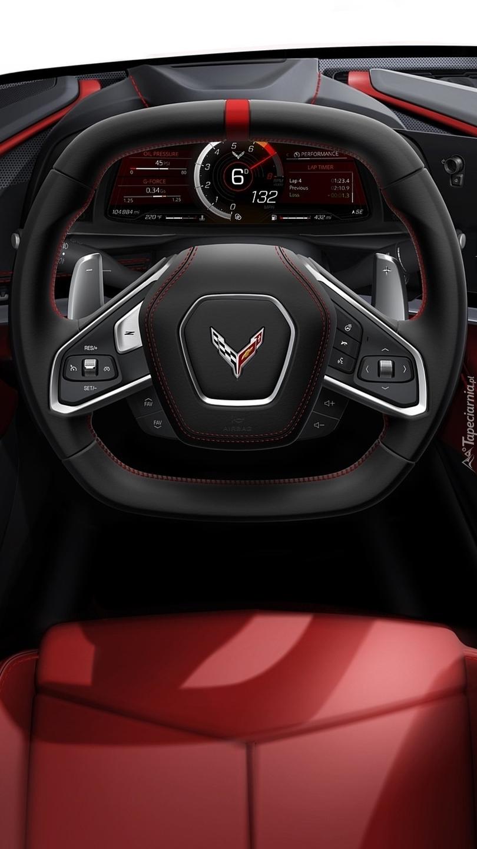 Kierownica Chevroleta Corvette
