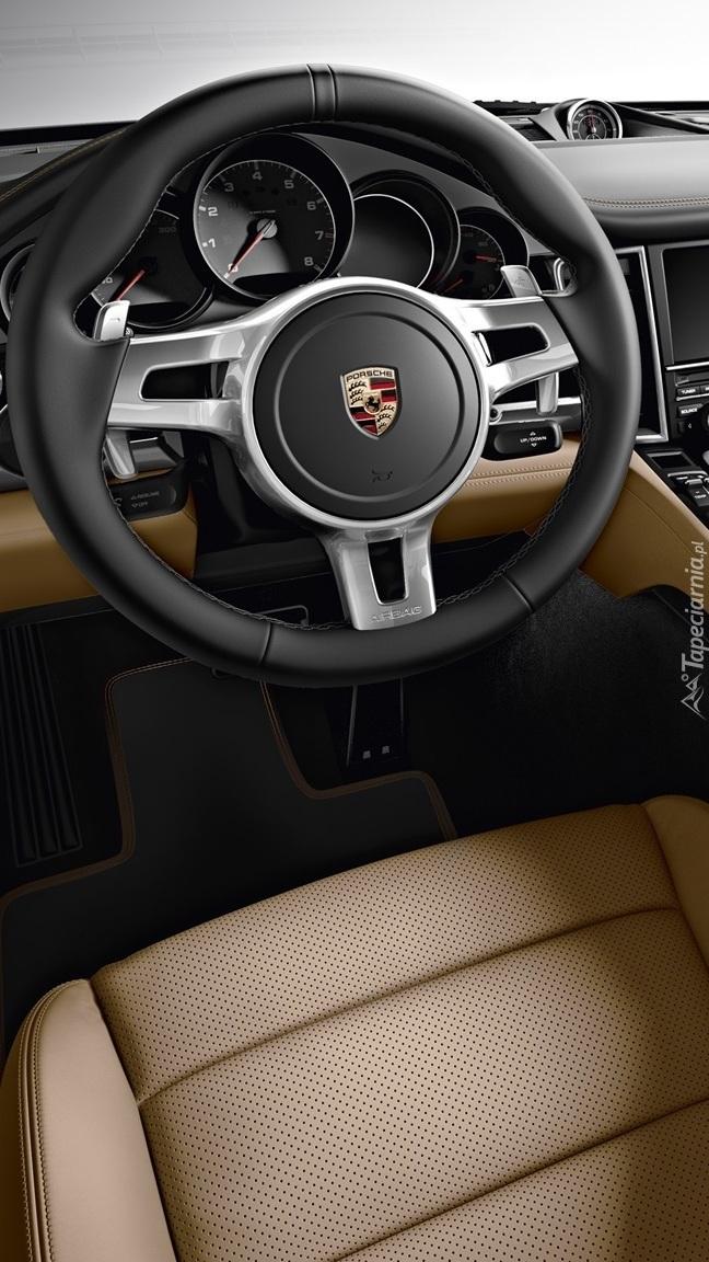 Kierownica w Porsche Panamera Platinum