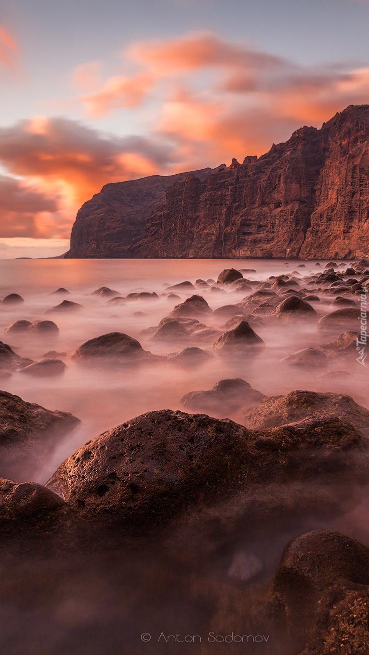Klif i skały na Teneryfie
