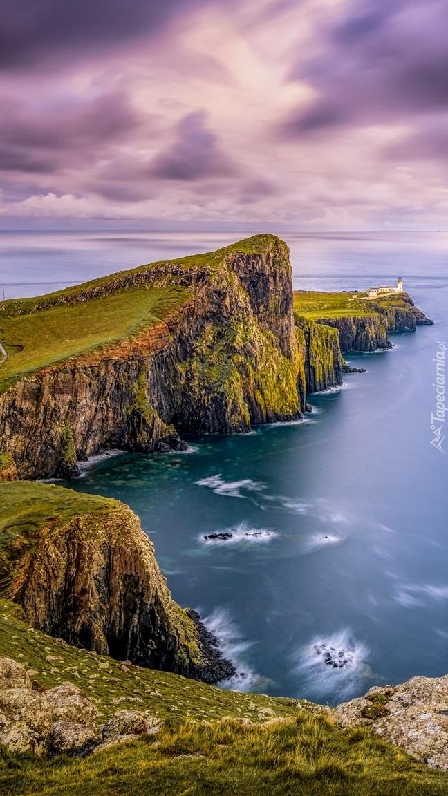 Klif nad morzem Szkockim
