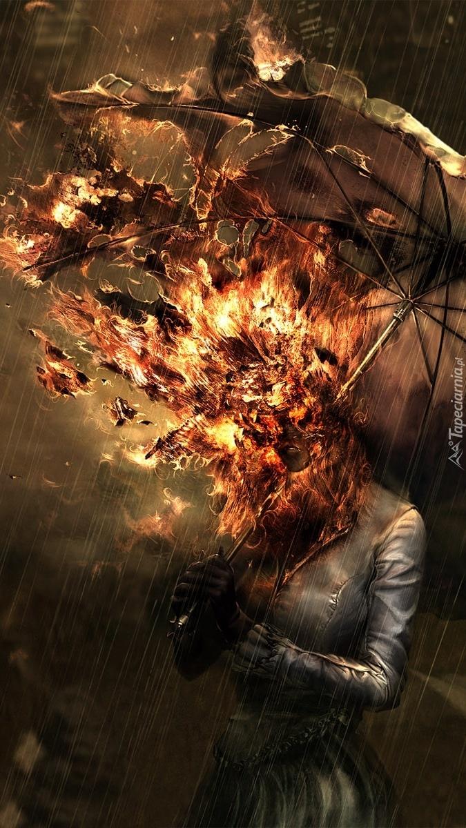 Kobieta w ogniu