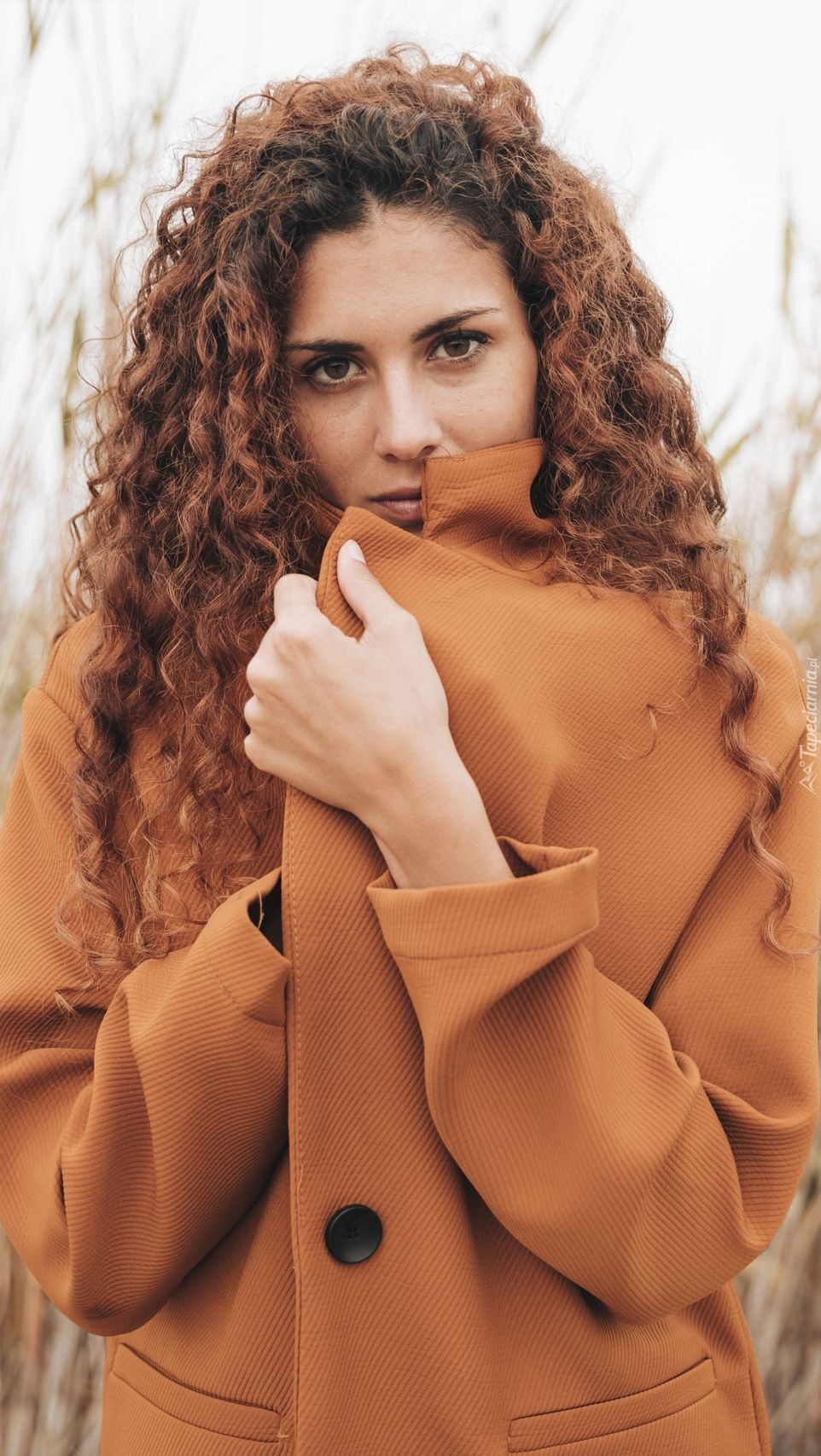 Kobieta w płaszczu
