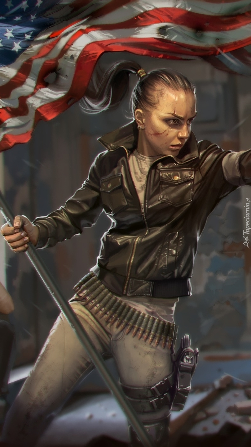 Kobieta z gry Homefront The Revolution