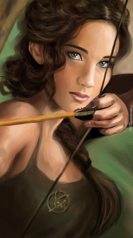 Kobieta z łukiem