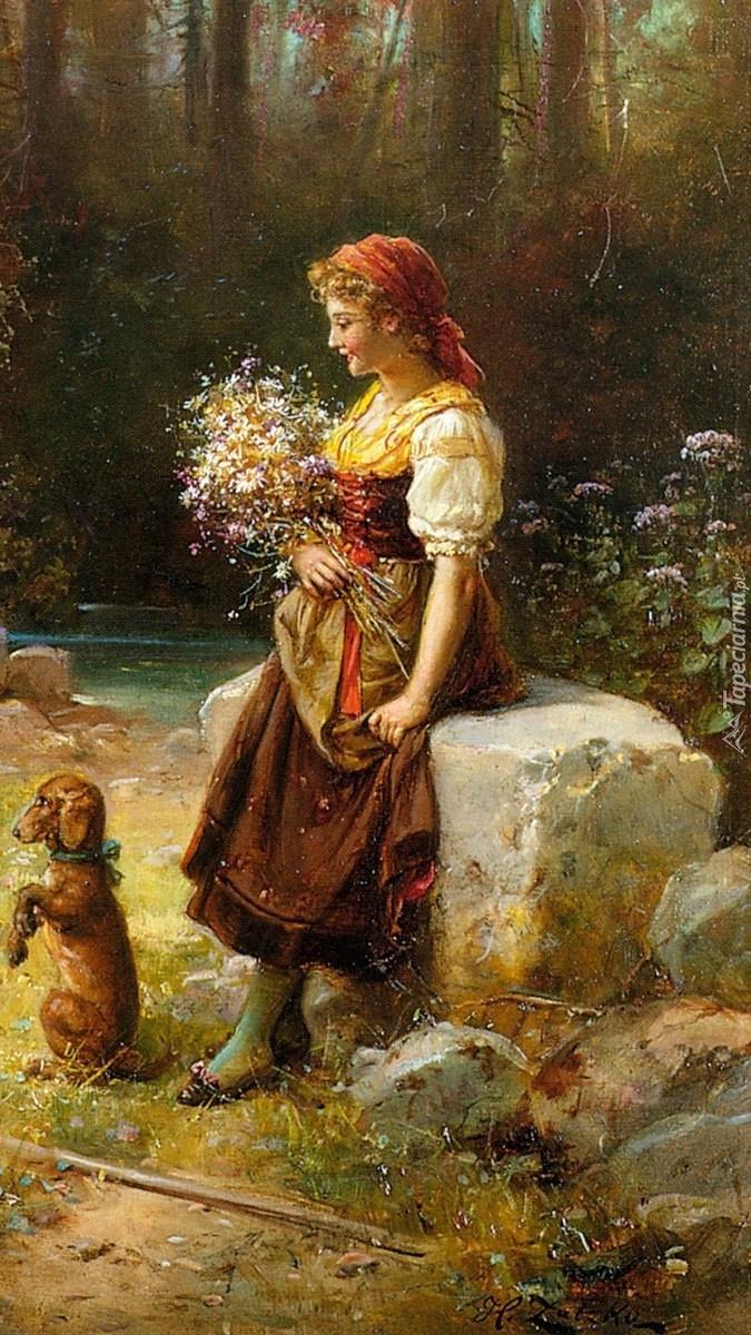 Kobieta z psem
