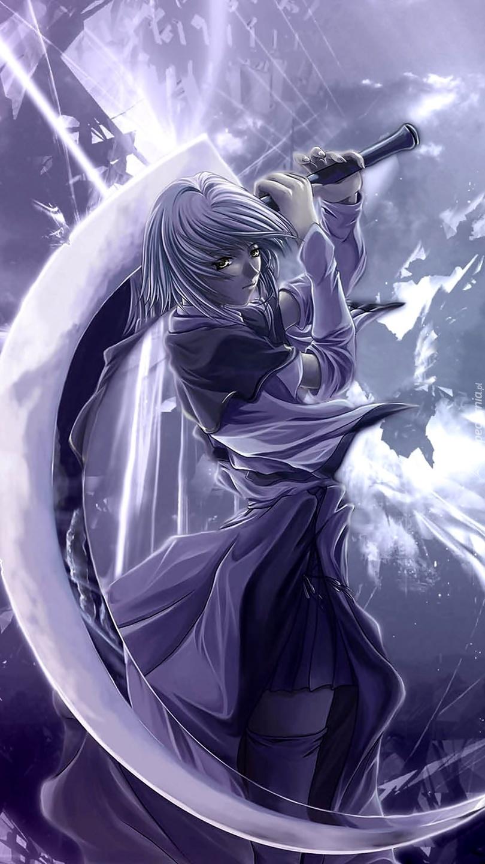 Kobieta z wielkim mieczem