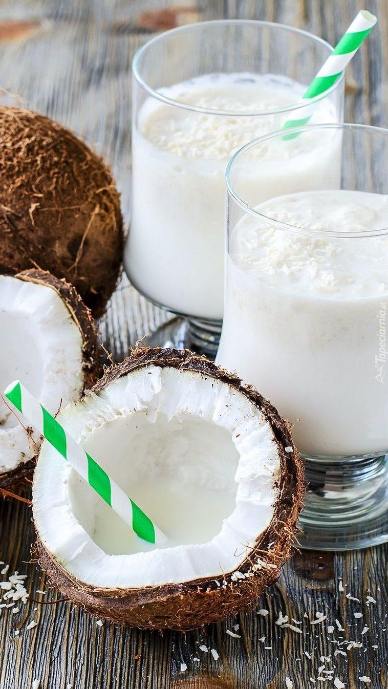 Kokosy i mleko kokosowe