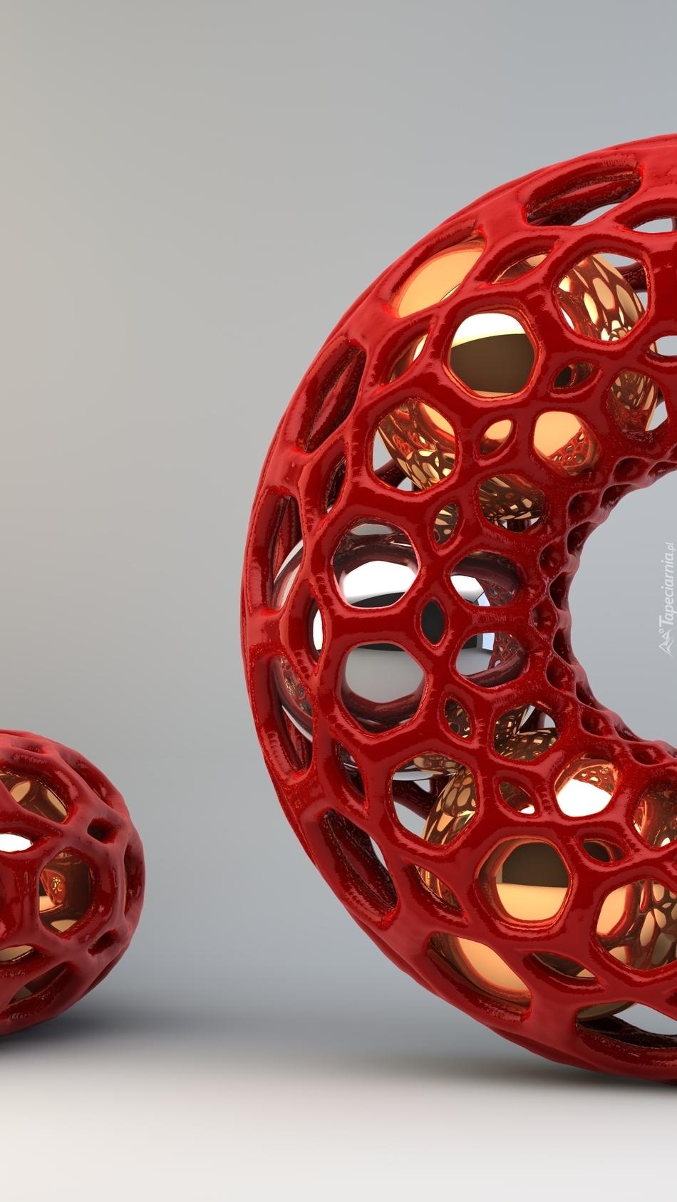 Koło i kula w 3D