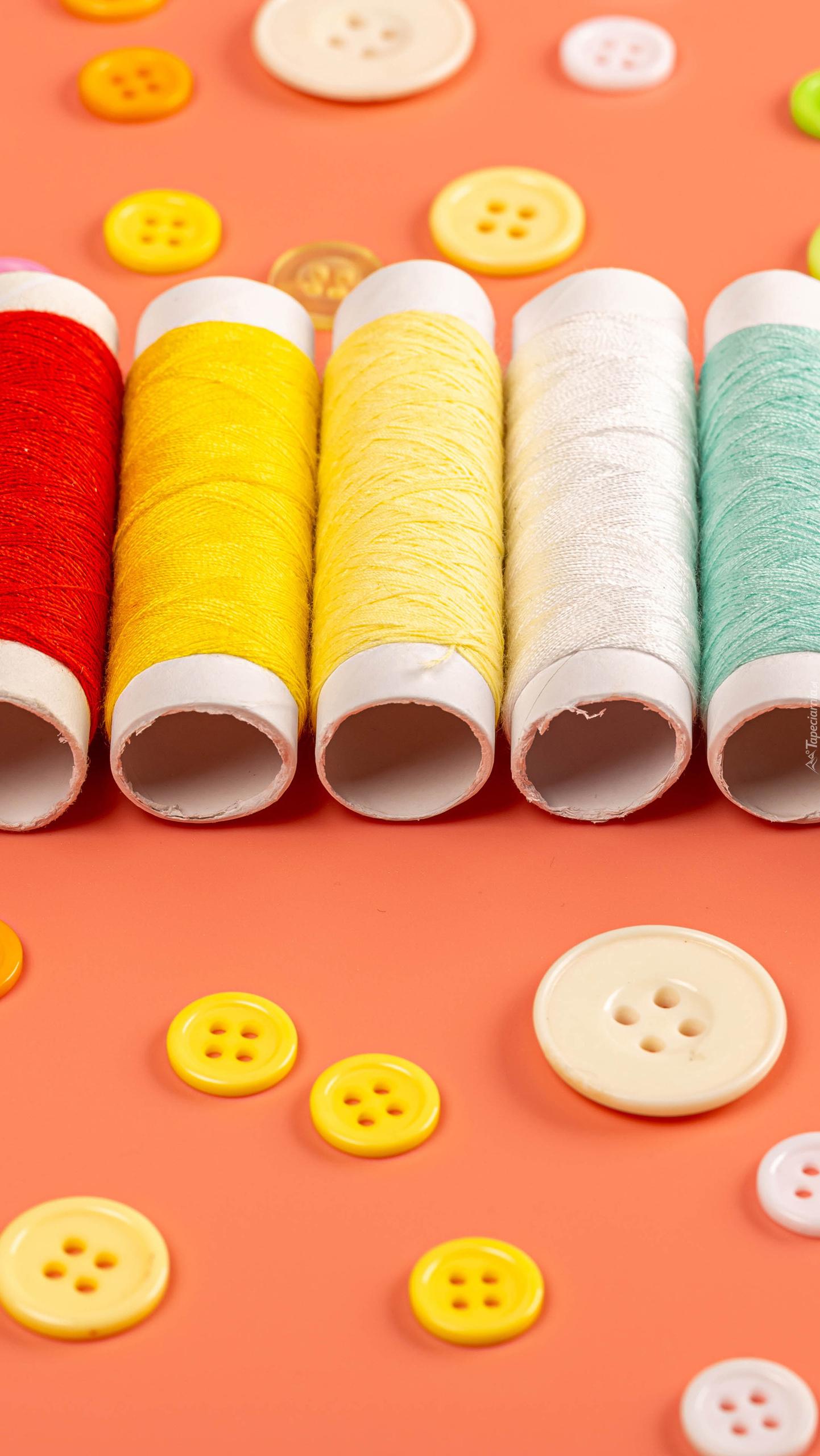 Kolorowe szpulki