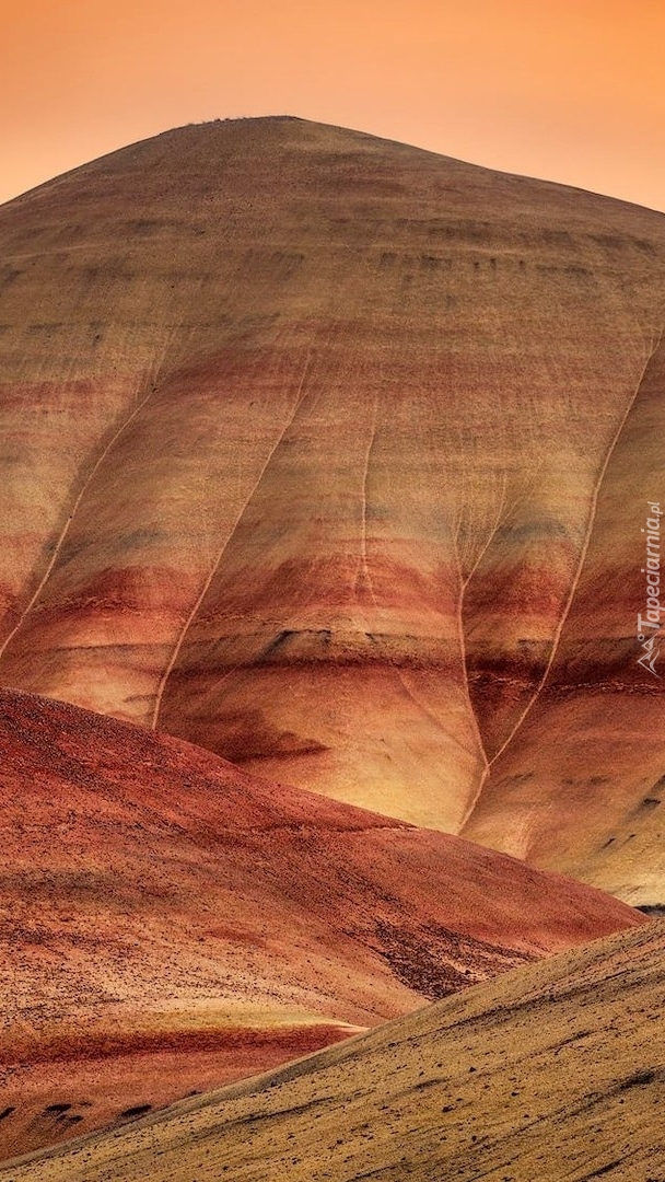 Kolorowe wzgórza Painted Hills