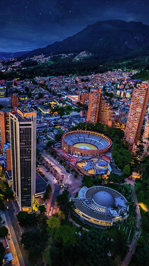 Kolumbia nocą