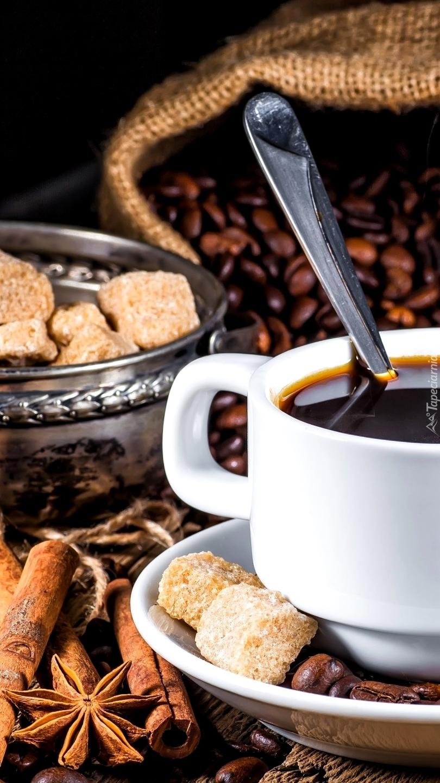 Kompozycja z kawą