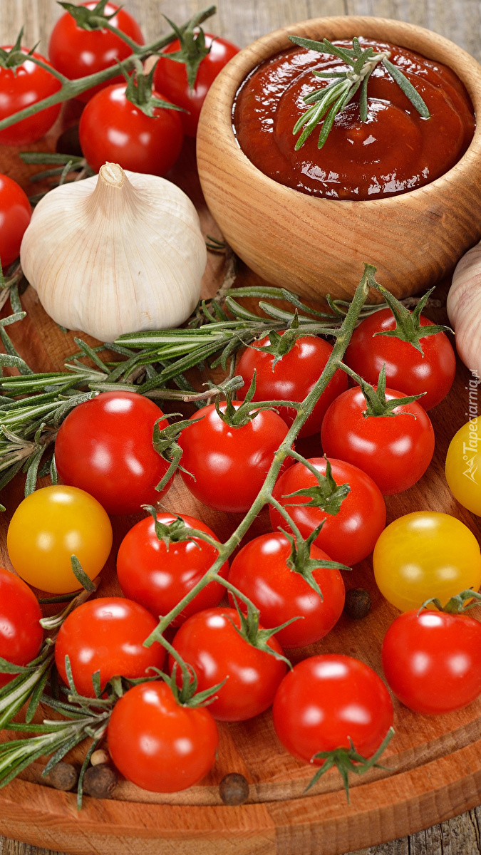 Kompozycja  z pomidorami