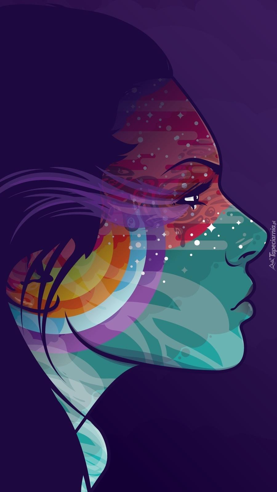 Komputerowy profil twarzy