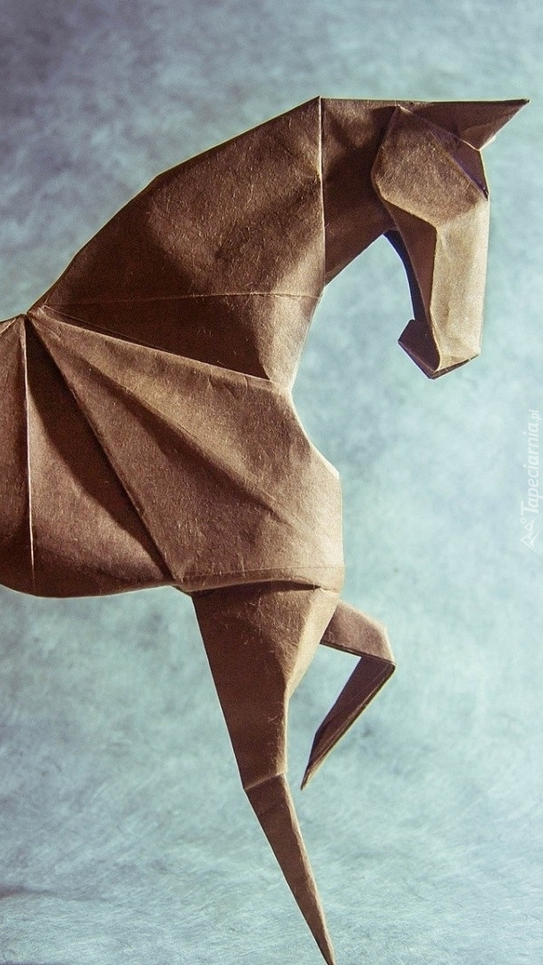Koń w origami