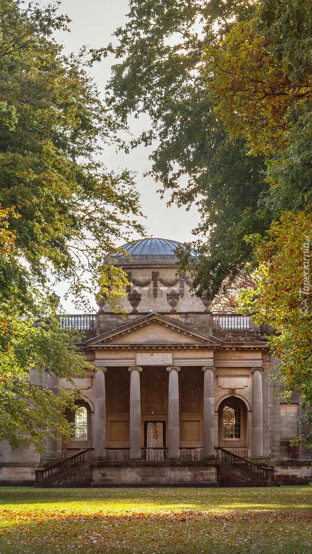 Kościół Gibside Chapel w Anglii