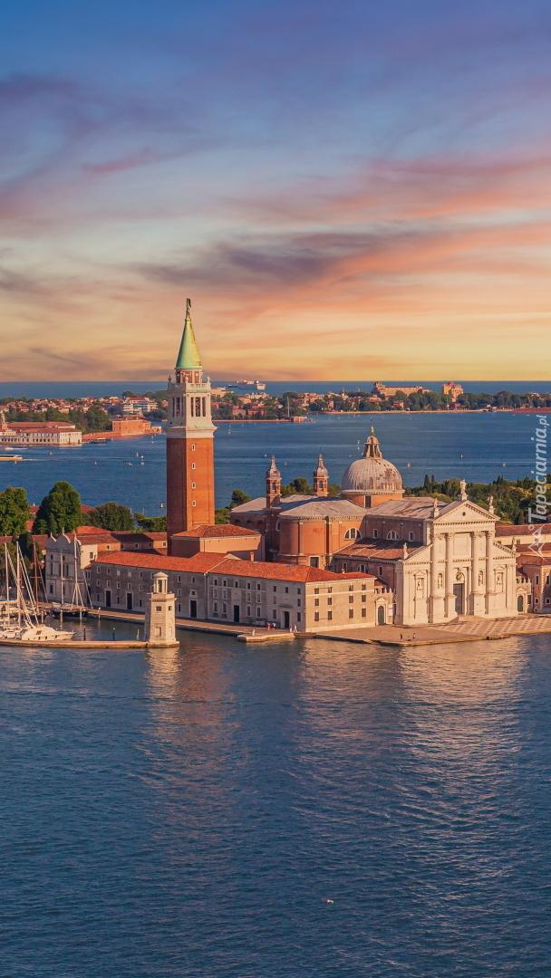 Kościół na wyspie San Giorgio