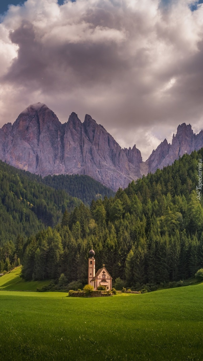 Kościół św.Jana w dolinie Val di Funes