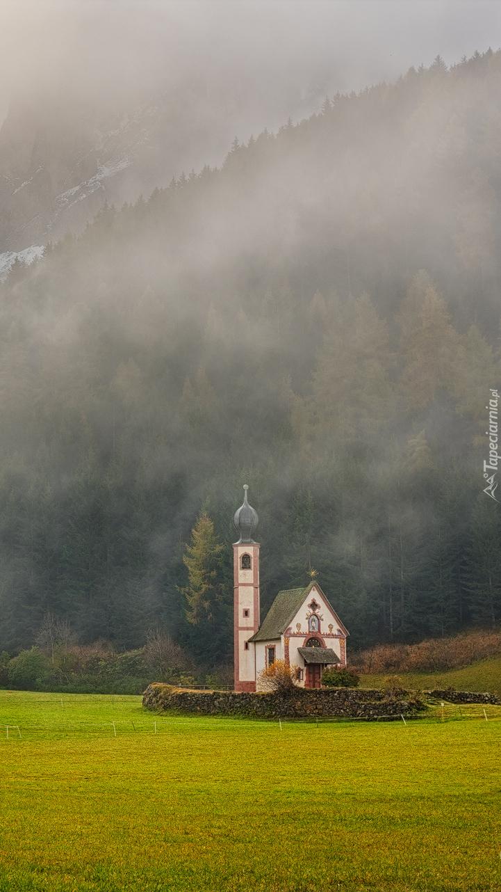 Kościół św. Jana w dolinie Val di Funes