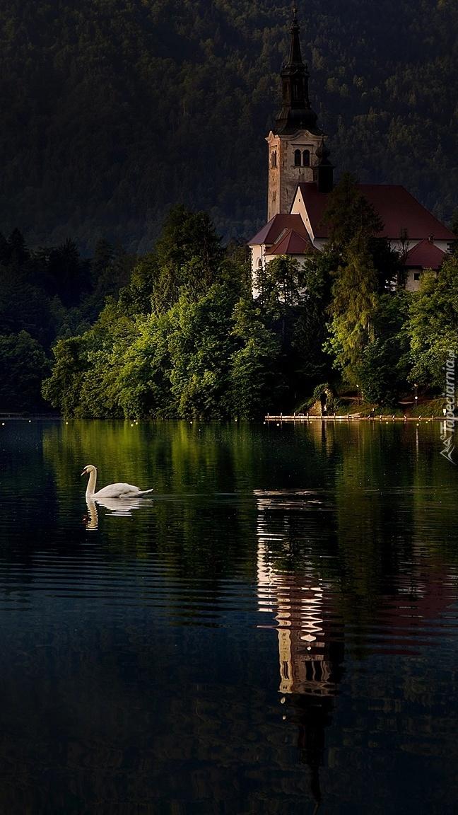 Kościół Zwiastowania Marii Panny na jeziorze Bled