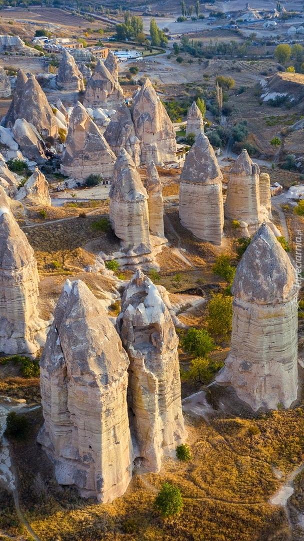 Kościoły i skały w Parku Narodowym Goreme
