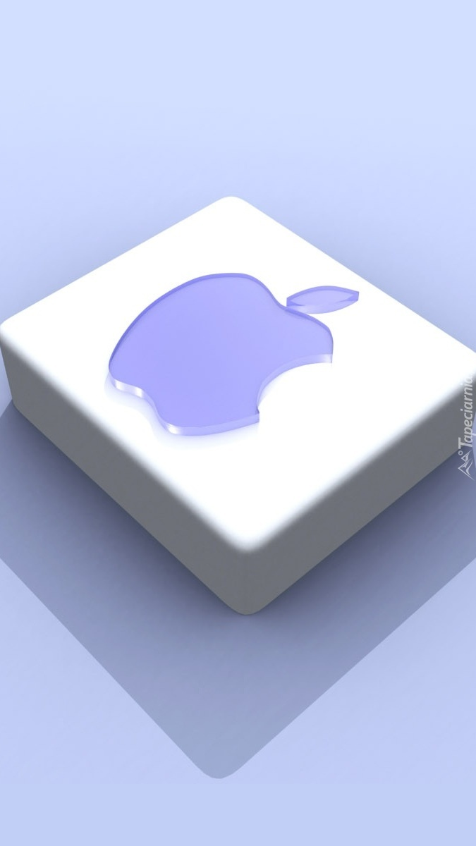 Kostka z logo Apple