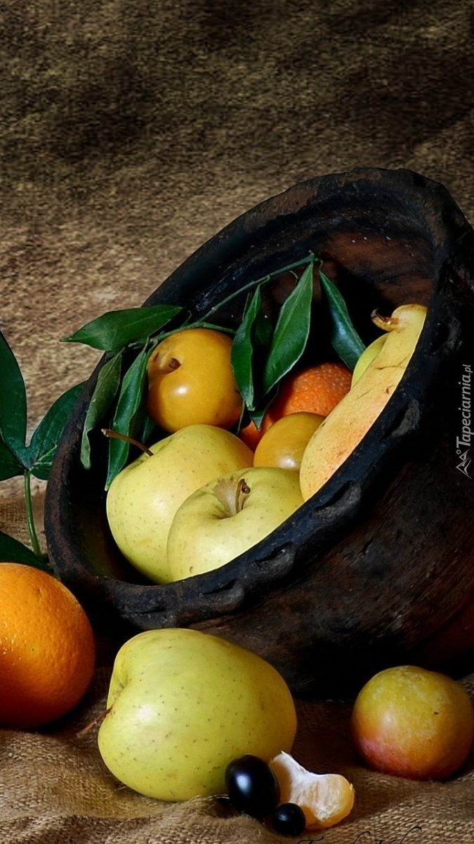 Kosz jabłuszek