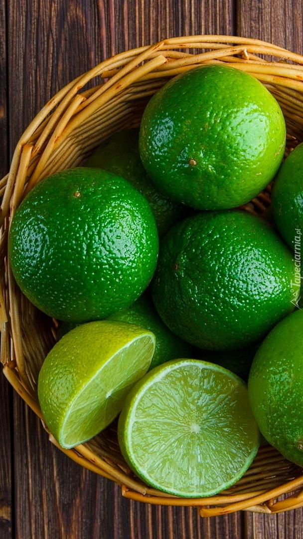 Koszyk z limonkami