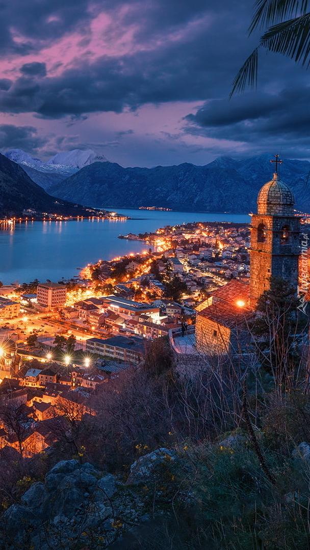 Kotor i Zatoka Kotorska w Czarnogórze