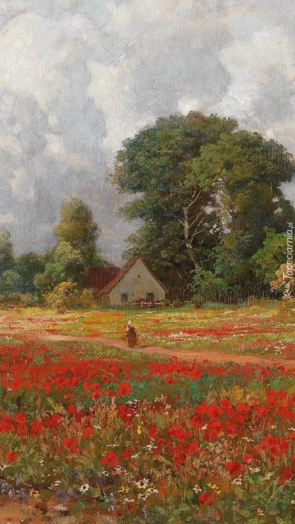 Krajobraz wsi w malarstwie Aloisa Arneggera