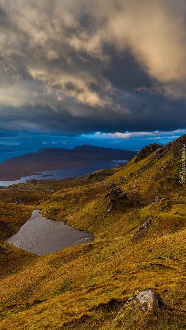 Krajobraz wyspy Skye