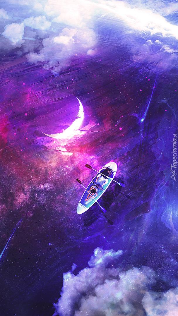 Księżyc i łódka