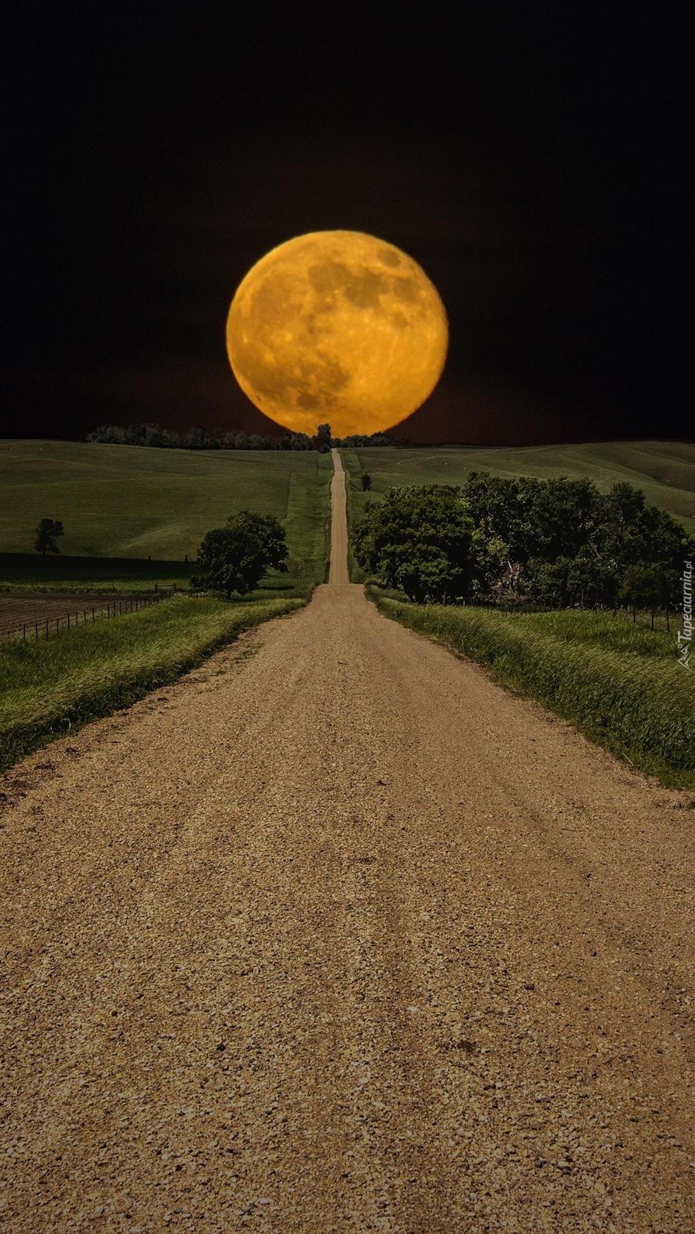 Księżyc z nieba spadł