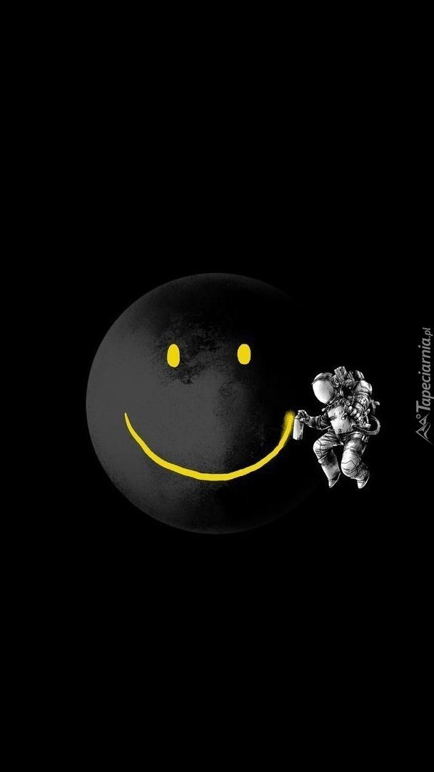 Księżycowy uśmiech