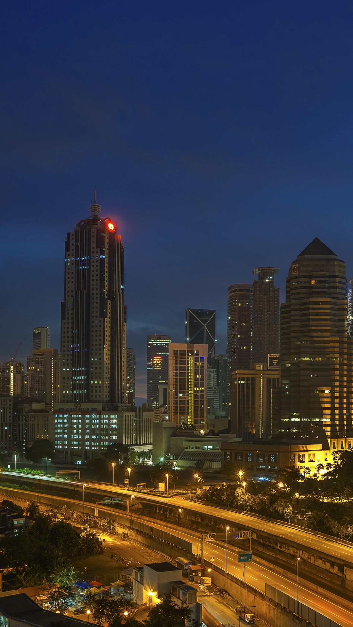 Kuala Lumpur nocą