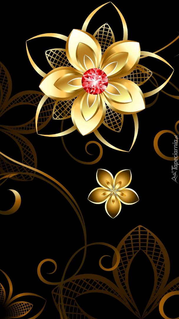 Kwiat w 2D