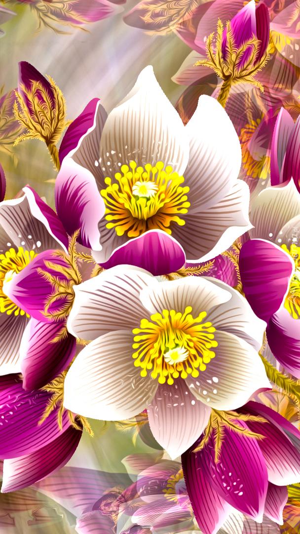 Kwiatki w grafice