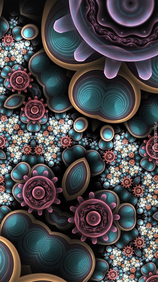 Kwiatowy fraktal