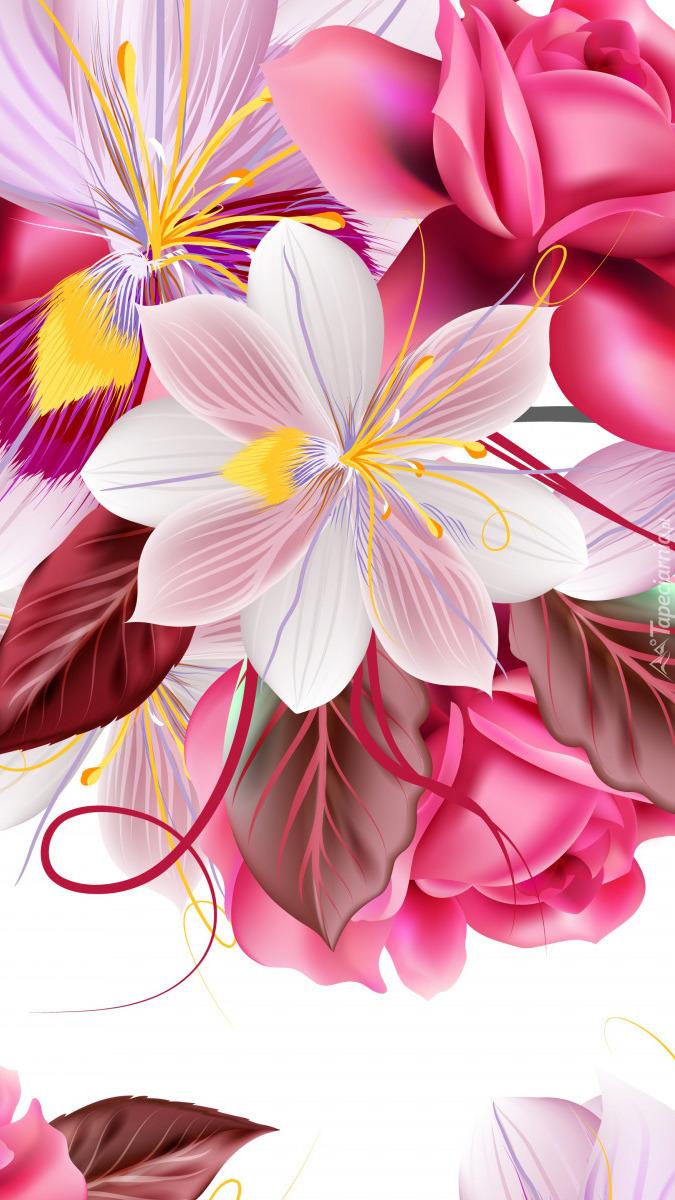 Kwiaty w 2D