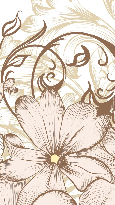 Kwiaty w grafice