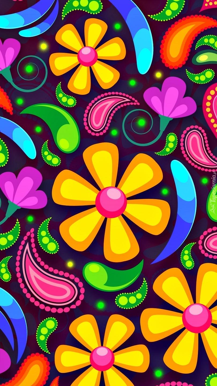 Kwiaty w grafice 2D