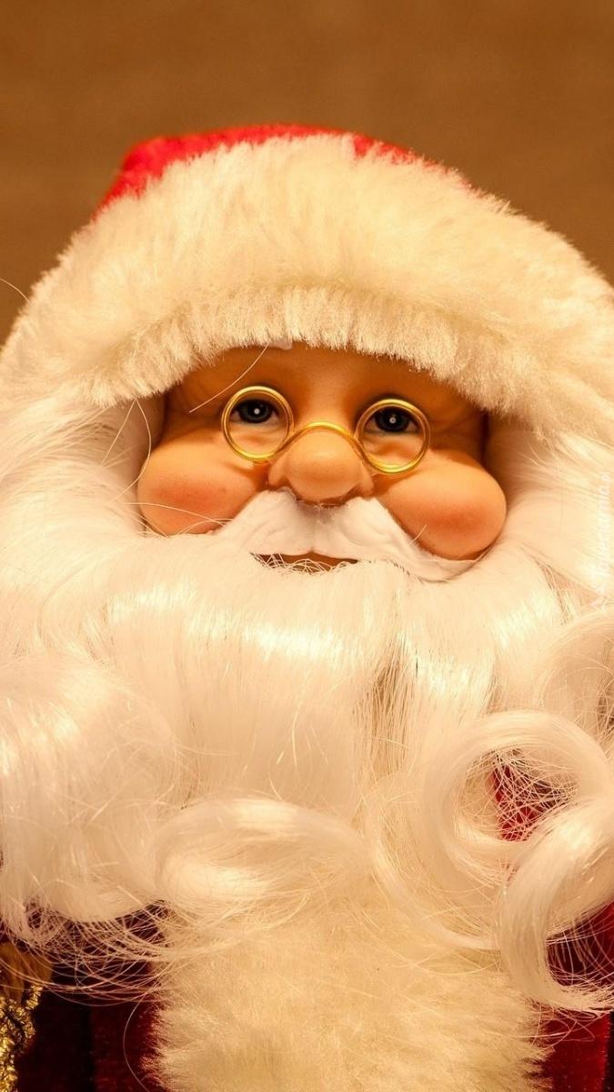 Lalkowy święty Mikołaj