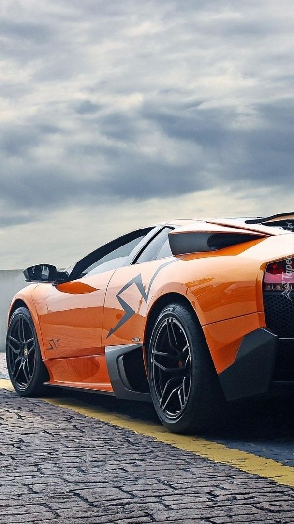 Lamborghini Murcielago na drodze