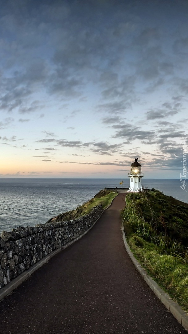 Latarnia morska Cape Reinga Lighthouse