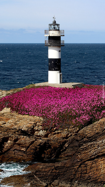 Latarnia morska Illa Pancha w Hiszpanii