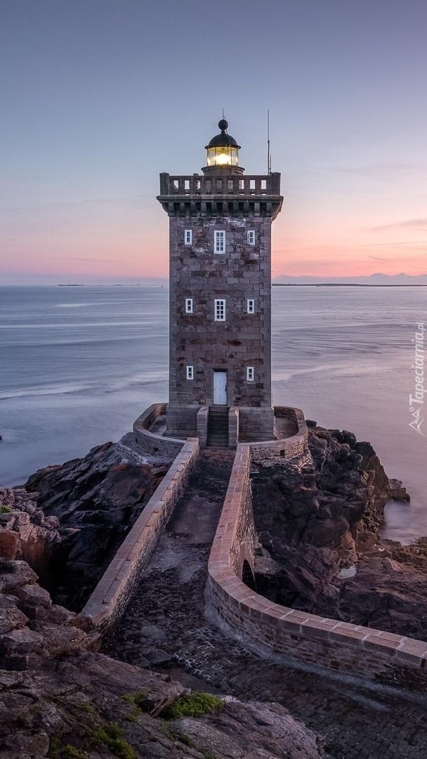 Latarnia morska Kermorvan lighthouse